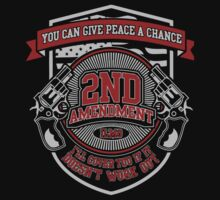 2nd T-shirt , 2nd amendment, 2nd birthday, 2nd anniversary, 2nd infantry division, 2nd ranger battalion by tommyendy