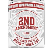 2nd T-shirt , 2nd amendment, 2nd birthday, 2nd anniversary, 2nd infantry division, 2nd ranger battalion iPad Case/Skin