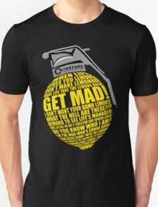 Portal 2 Cave Johnson Combustible lemon quote T-Shirt
