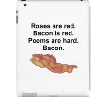 Bacon Poem iPad Case/Skin