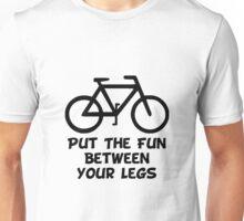 Bike Between Legs Unisex T-Shirt