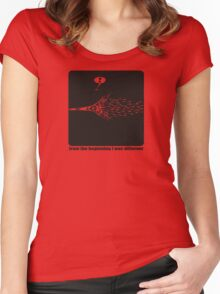 I`m different Women's Fitted Scoop T-Shirt