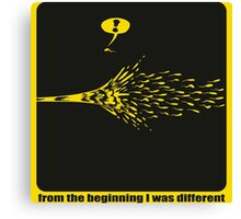 I`m different Canvas Print