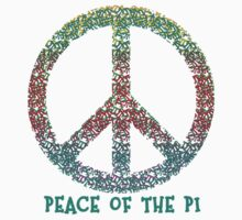Peace of the Pi for Pi Day Kids Clothes