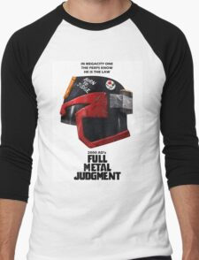 Full Metal Mashup!!! - Born to Judge Men's Baseball ¾ T-Shirt