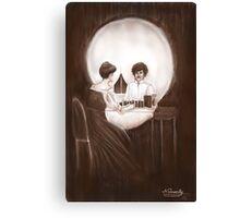 Necessity - Dr Hooper Canvas Print