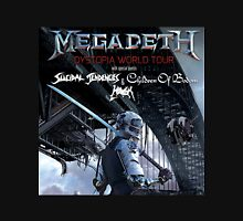 MEGADETH DYSTOPIA WORLD TOUR COVER T-Shirt