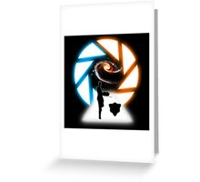 Space Portal Greeting Card