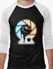 Space Portal Men's Baseball ¾ T-Shirt