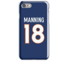 PEYTON MANNING OFFICIAL STYLE iPhone Case/Skin