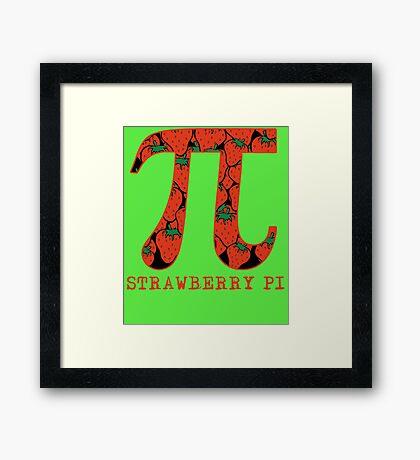 Strawberry Pi Framed Print