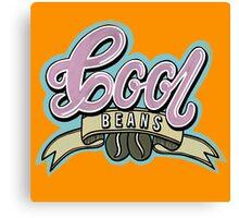 Cool Beans Coffee  Canvas Print