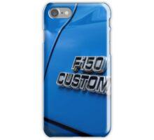 1977 Ford F 150 Custom Name Plate iPhone Case/Skin