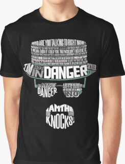 I´m the who knocks - Breaking Bad Walter White Design Graphic T-Shirt