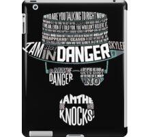 I´m the who knocks - Breaking Bad Walter White Design iPad Case/Skin