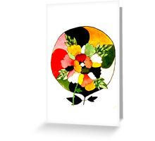 Mandala Flower Greeting Card