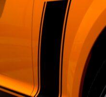 2007 Orange Ford Mustang Saleen Boss 302 Sticker