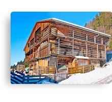 Austria - farmhouse in Tirol Metal Print