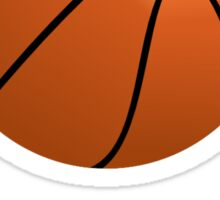 Basketball Smile Sticker
