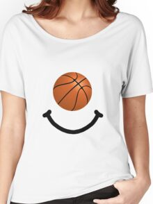 Basketball Smile Women's Relaxed Fit T-Shirt