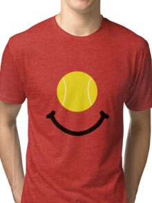 Tennis Smile Tri-blend T-Shirt