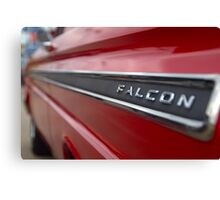 1965 Ford Falcon Name Plate Canvas Print