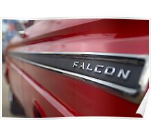 1965 Ford Falcon Name Plate Poster
