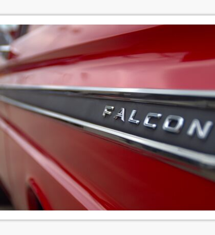 1965 Ford Falcon Name Plate Sticker