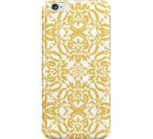 gold vintage pattern iPhone Case/Skin