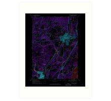 New York NY Saratoga Springs 129389 1967 24000 Inverted Art Print