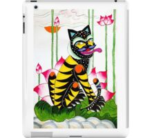 Blackie, the cheeky tiger iPad Case/Skin