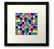 Mondrian Couture Framed Print