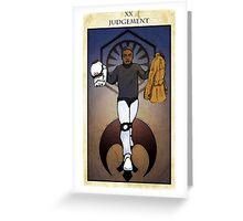 Judgement Greeting Card