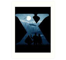 Alien Intervention Art Print