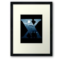 Alien Intervention Framed Print