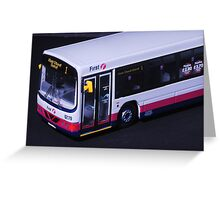 First Bus - Aberdeen Scotland Greeting Card