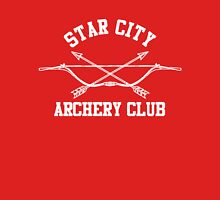 Star City Archery Club – Green Arrow, CW Unisex T-Shirt
