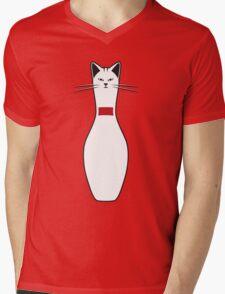 Alley Cat Mens V-Neck T-Shirt