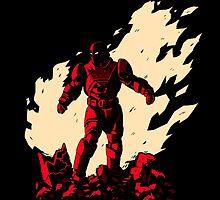 Super Armor Red by albertocubatas