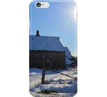 Birch Avenue Sun iPhone Case/Skin