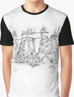 Spiral Islands Graphic T-Shirt