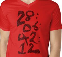 Countdown Mens V-Neck T-Shirt