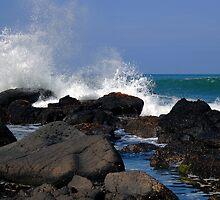 Causeway Waves by Wrayzo