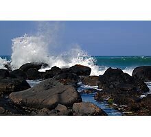 Causeway Waves Photographic Print
