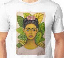 frida young and sad Unisex T-Shirt
