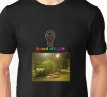 Speed of Light Unisex T-Shirt