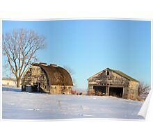 The Barn and Garage Poster