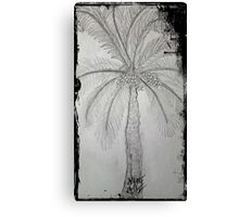 palmiye Canvas Print