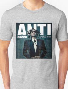 RIHANNA ANTI WORLD TOUR DATE 2016 T-Shirt