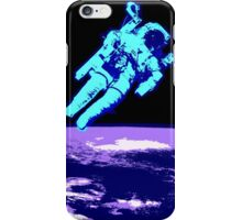 Spaceman Astronaut abstract art iPhone Case/Skin